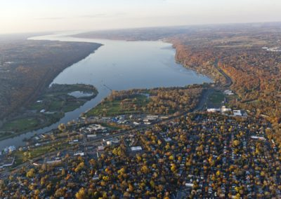 City of Ithaca and Cayuga Lake-Bill Hecht