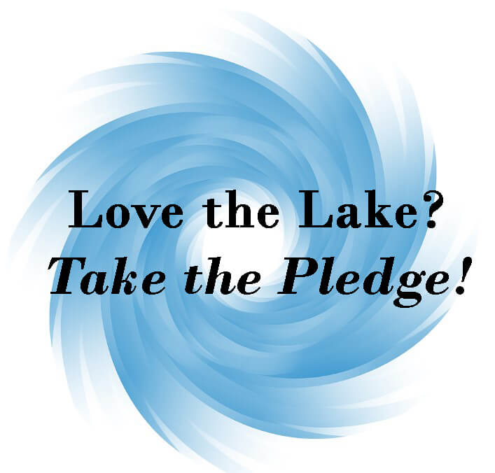 Lake Friendly Living Pledge Graphic